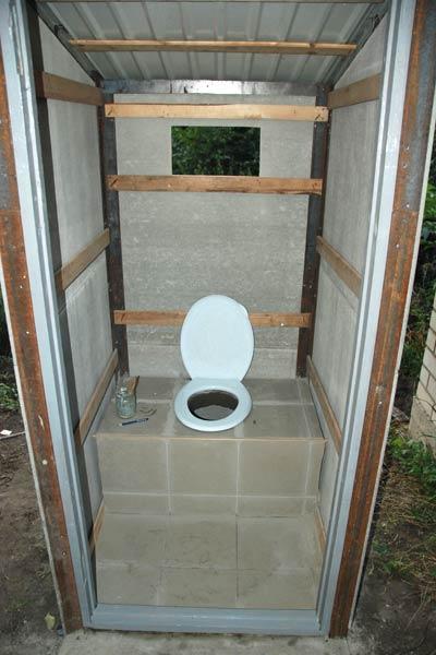 Туалет для дачи своими руками, как построить туалет на 49